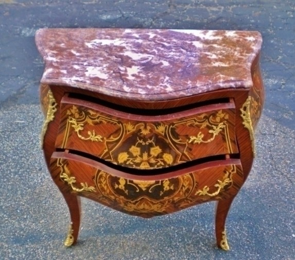 Imported From Abroad Spectacular Louis Xv Marquetry Commode Furniture