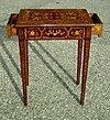 italian style superb marquetery lady  desk