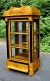 SUPERB HIGH END Biedermeier Style china cabinet