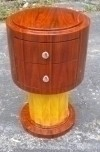 bedside commode in Pure Art Deco inspired stand