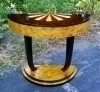 Amazing Art Deco style rosewood and Elm console