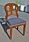 Fine Biedermeier Style walnut Chair