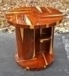 Art Deco style Side Centre cocktail Table Rosewood