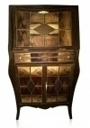 Extraordinary marquetry Art Deco INSPIRED Bar