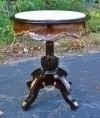 Side table Marble top carved gilded Louis XV style