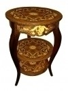Best 3 TIERS Louis XV style wine-side table