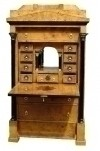 GRANDIOSE and HUGE Vienna Biedermeier style Desk