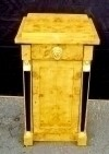 Biedermeier style commode cabinet olivewood