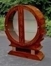 STUNNING Rosewood Art Deco inspired cabinet