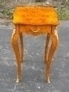 Gorgeous satinwood Biedermeier style SIDE TABLE