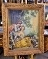 "Classic Oil Painting Young Lovers on Canvas 24""x36"""
