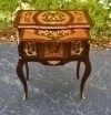 Beautiful Commode with slide Louis XV style MARQUETRY