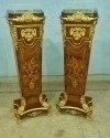 in 6 weeks Pair Gorgeous Louis XV style high stands