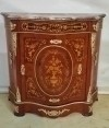 French Louis XV style Cabinet Chest Marquetry Inlay