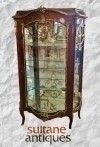 in 8 weeks Monumental Louis XV style Vitrine cabinet