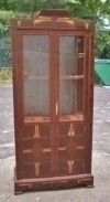 Special Rosewood Art Deco style bookcase cabinet.