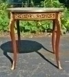 Superbly ornate Center Table Louis XV Marble Topped