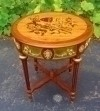 Phenomenal with Gilded bronze Louis XV style side table