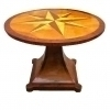 Important star centered Biedermeier style center table