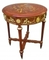 Grandiose inlaid Bronze louis XV style side centertable