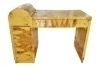 in 10 weeks Special Art Deco forms burl olive wood desk