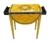 Burl Maple drop leaf Pembroke table table Gorgeous!!