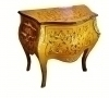 Elegant French Directoire style side table commode