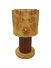 in 10 weeks Pure Art Deco style side table commode
