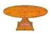 Large Center Table Biedermeier Style French burl maple