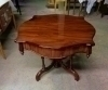 Magnificent center table Victorian style Mahogany