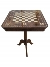IN 6  WEEKS Fine inlaid Walnut & Elm Chess table