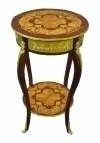 Fine 2 TIERS Louis XV style wine-side table
