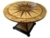 Fabulous Art Deco rococo style stunning marquetry Table