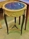 Superb SIDE TABLE marble topped Louis XV style