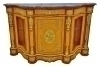 in 10 weeks superbornate marble top Victorian Credenza