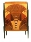 6 WEEKS FABULOUS Art-Deco style bookcase / cabinet