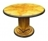 Superb Olive wood Large Art Deco inspired centerTable