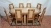 in 12 weeks BEST Art Deco style Conference/dining set