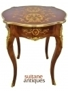 in 8 weeks Louis XV style inlaid CENTER side table