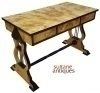 Best olive wood Biedermeier style desk