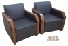 in 10 weeks Best Quality Pair Makassar Ebony Armchairs