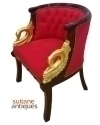 IN 8 WEEKS LUXURIOUS LOUIS XV ARMCHAIR WITH BRONZE