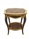 3 weeks quality Louis style two toned side table