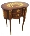QUALITY Art Deco style inlaid maple and precious woods
