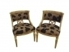 3 weeks Pair Splendid Maple directoire style armchairs