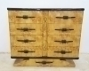 Art deco Bird's Eye Maple Chest of Drawers Dresser