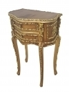 in 12 weeks Magnificent Louis XV GOLDEN  side table