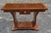 Art Deco style console dark walnut and marquetry