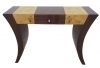 Pristine Art Deco inspired Console Rose and Elm wood