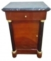 Superb Quality walnut Biedermeier style commodes